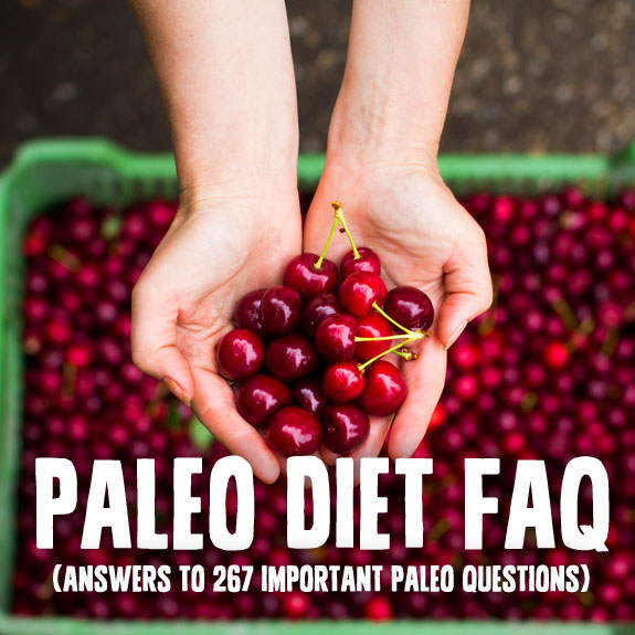 questions about paleo diet