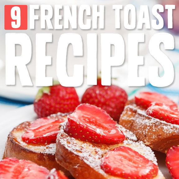 French toast doesn't need to be unhealthy! Take a look at these healthier (and just as delicious) French toast options…