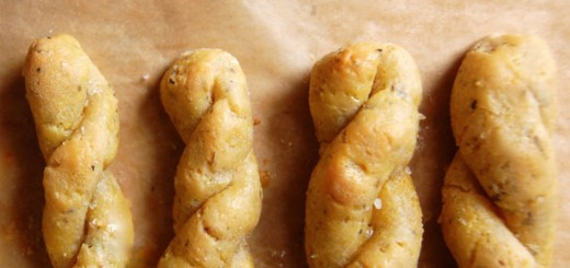 Homemade Garlic Breadsticks- just try not to eat the whole batch yourself :)