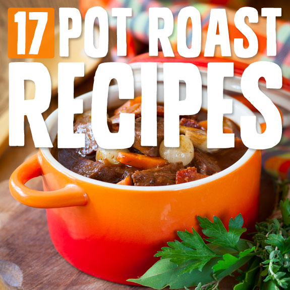 These are my favorite pot roast recipes. They're simple, comforting and hearty.