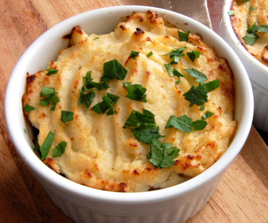 Easy Shepherd's Pie- all the comfort, without the hassle.