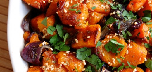 Roasted Butternut Squash and Onions- you will want to make this every chance you get after trying it!