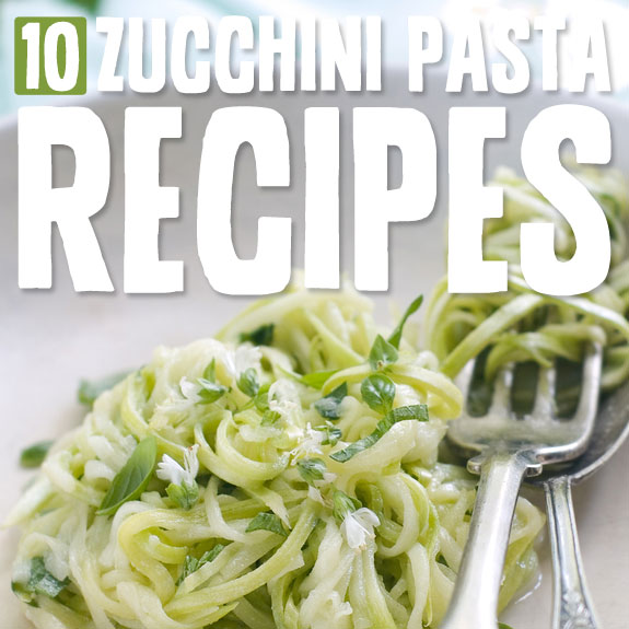 Zucchini makes an awesome low-carb alternative for pasta. After trying these you won't even miss it...