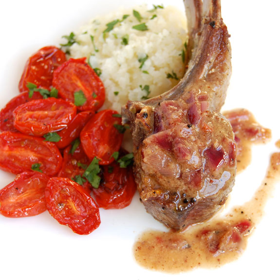 how to make lamb chops