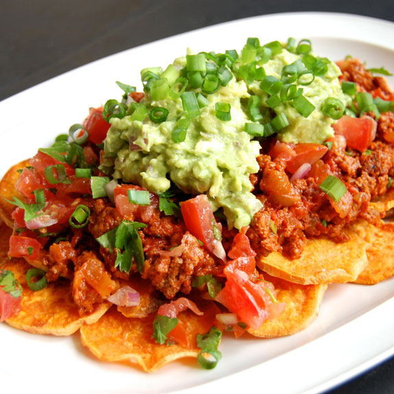 Addictive & Healthy Nachos- you will want to make these nachos over, and over, and over…