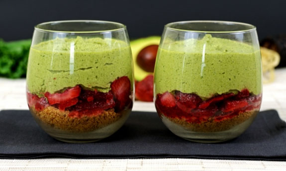 avocado parfait recipe