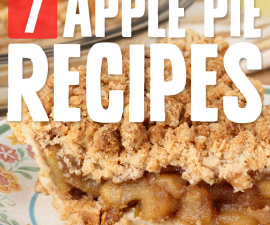 7 Comforting Apple Pies- healthier versions of traditional Apple Pie that taste even better.