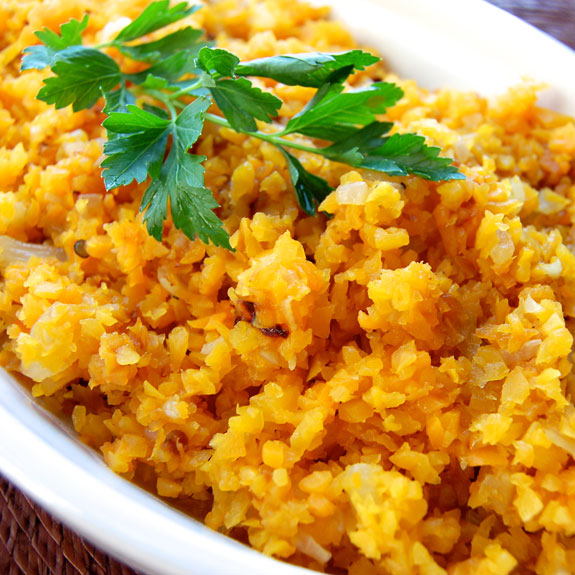 "Healthy Butternut Squash ""Risotto"" 