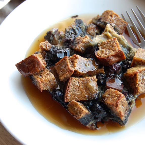 Awesome Blueberry French Toast Casserole- holy moly! If I could eat this every morning I would.