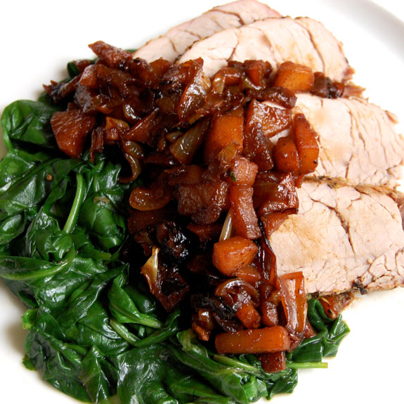 Pork Tenderloin with Caramelized Apples- this is one you will want to ...