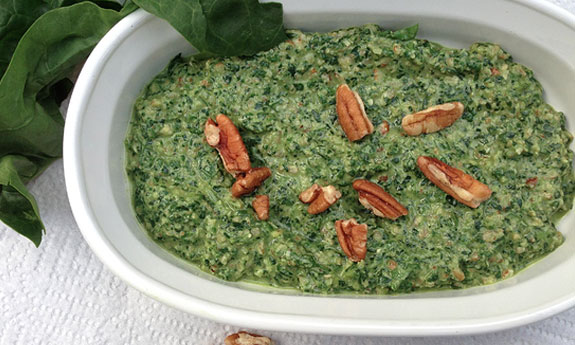 savory spinach pesto