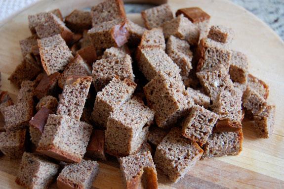 toast cubes