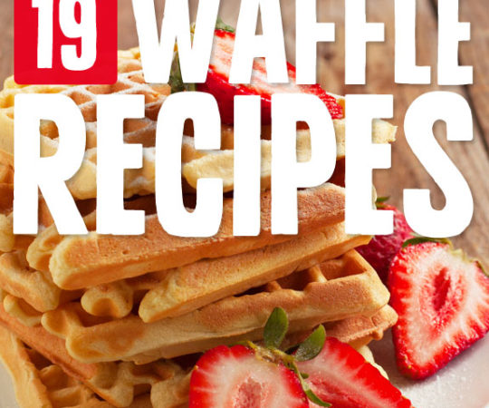 19 Yummy Waffles- from the classics to unique savory waffles.