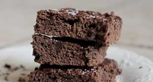 lavender brownies