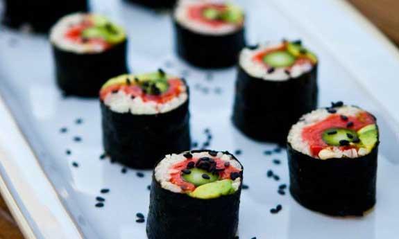 paleo asparagus sushi