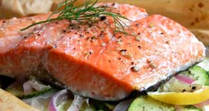 paleo baked salmon