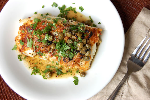 Simple Cod Piccata A Tasty And Easy Cod Recipe
