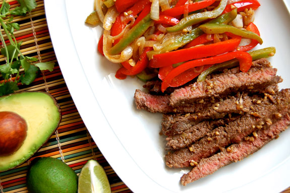 Paleo Steak Fajitas