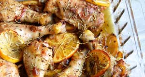 roasted paleo citrus and herb chicken