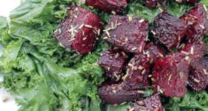 roasted rosemary beets