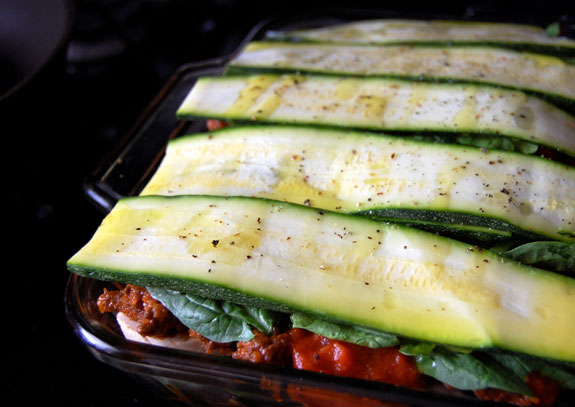 Eggplant-Zucchini Lasagna With Fontina Recipes — Dishmaps