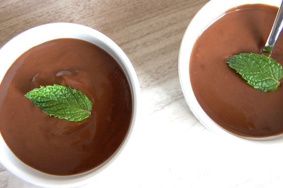 Quick and easy chocolate pudding recipes
