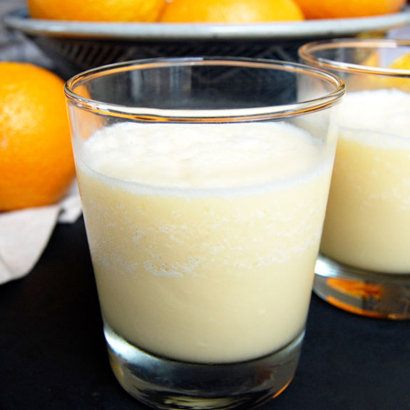Creamy Homemade Orange Julius- like the classic, but better.