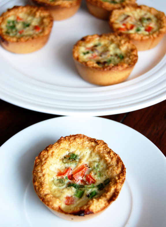 Paleo mini quiches with almond flour crust just paleo food for Quiche not setting