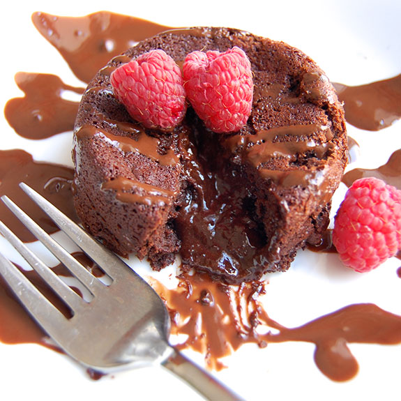 Molten Chocolate Lava Cakes- one of the most decadent and delicious chocolate desserts you will ever make.