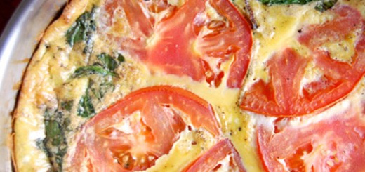 BLT Frittata- one of my all-time favorite breakfasts! So good.