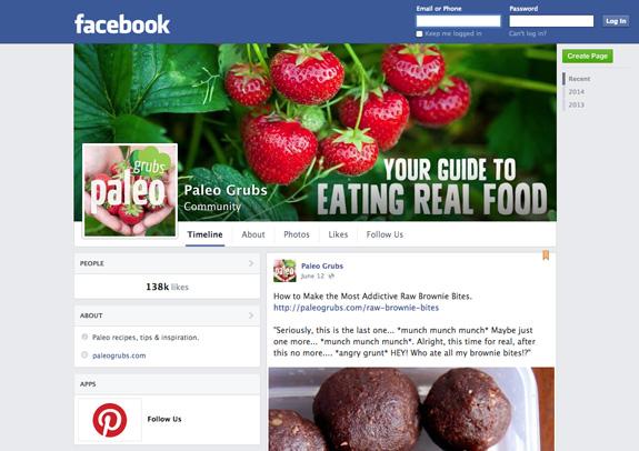 Paleo Grubs Facebook