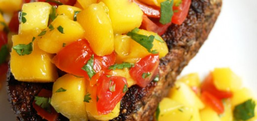 Caribbean Pork Chops with Mango Salsa- this is best mix of sweet and savory. My friends LOVE this dish and always ask me to make it for them when they visit.