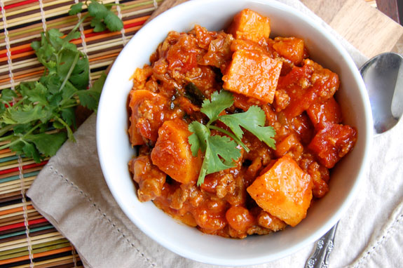 sweet potato and turkey chili recipe