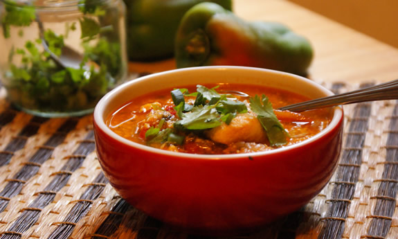 Ecuadorian Coconut Fish Stew