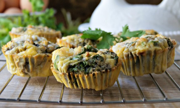 Egg Muffins with Hatch Green Chilies