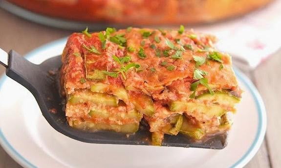 High-Protein Zucchini Parmesan