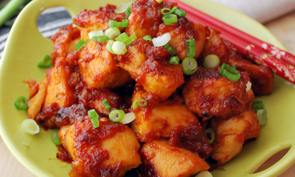 Honey Orange Chicken