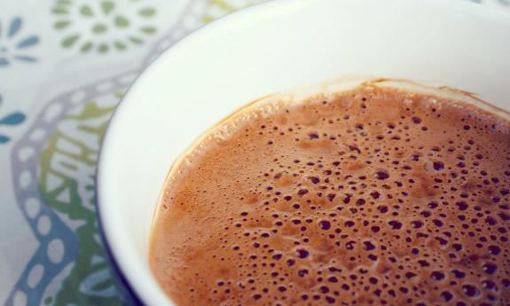 Rainy Day Paleo Hot Chocolate