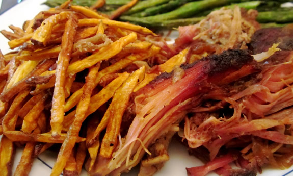Smoked and Pulled Pork