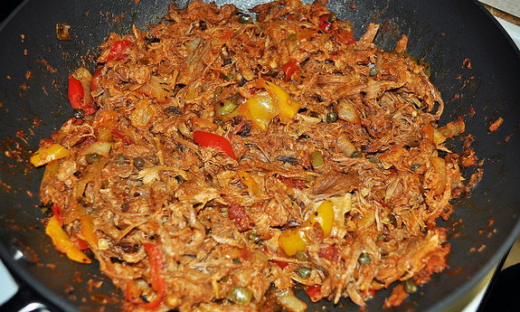 Spicy Skillet Pulled Pork