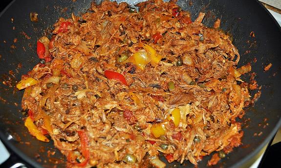 Spicy Skillet Pulled Pork