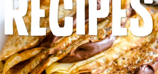 8 Crêpes to French Up Your Day- a lot of unique crepe ideas in here. I have tried 3 of the recipes and they were all fantastic!