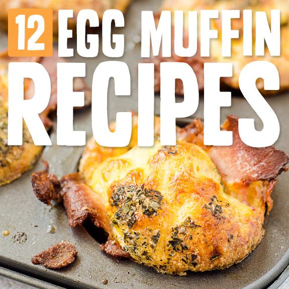 ¡Estas magdalenas de huevo son mis favoritas! Hace un desayuno tan saludable y delicioso, ¡sin mencionar que son portátiles!