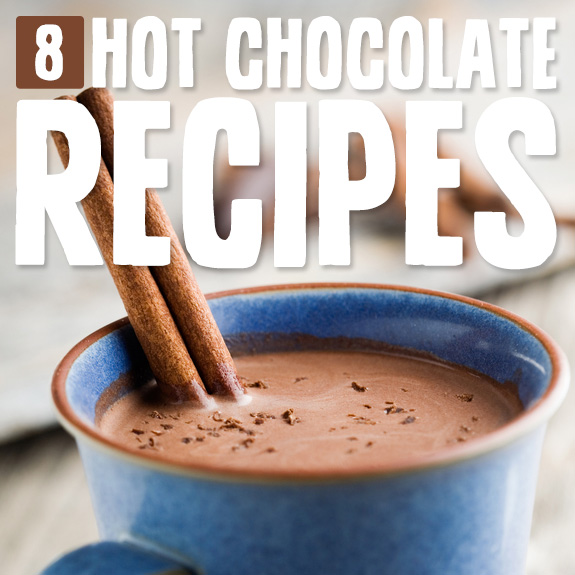Try one of these rich hot chocolate recipes when you want to cozy up.