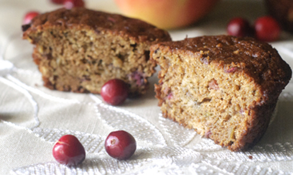 Apple-Cranberry Muffins