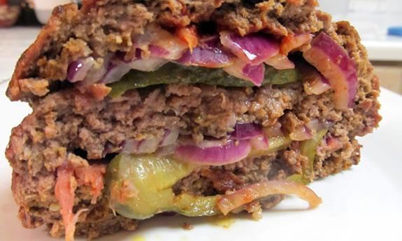 Bacon Burger Meatloaf