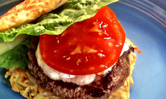 Beef Burgers with Heart