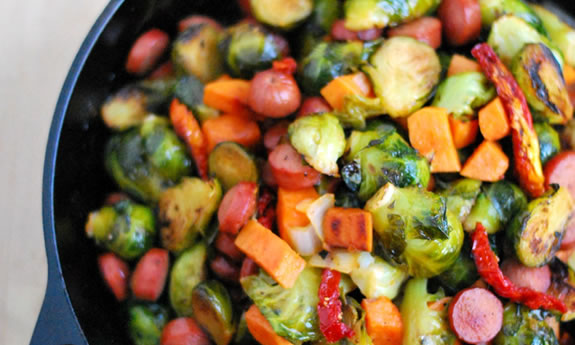 Brussels Sprouts Skillet