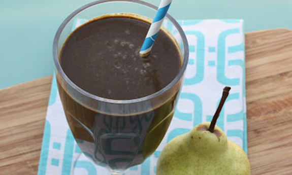 Chocolate & Pear Protein Shake