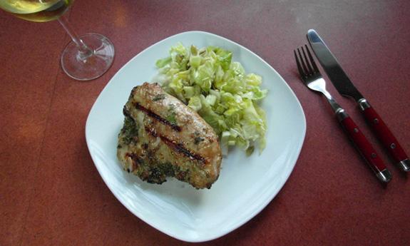 Cilantro Sesame BBQ Chicken